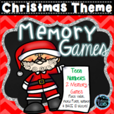 Christmas Games - Teen Numbers Place Value Memory Games