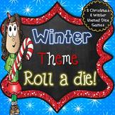 Winter Literacy Center - Roll a Die Activities
