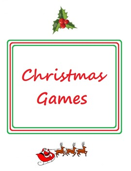 Christmas Games and Activities