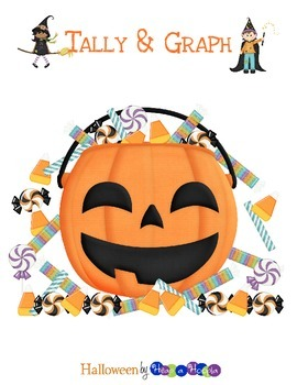 FREE Halloween Graph and Tally by Heap a Hoopla
