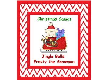 Christmas Games with Frosty and Jingle Bells