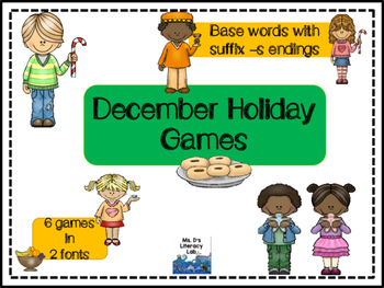 Root Word Games (December)