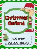 Christmas Garland- ABC Order