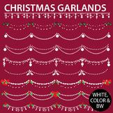 Christmas Dividers / Garlands Clip Art