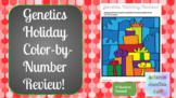 HOLIDAY: Genetics Review- COLOR BY NUMBER!