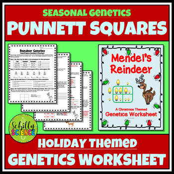Holiday Science - Christmas Genetics Worksheet
