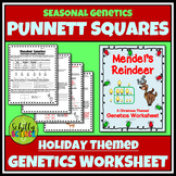 Christmas Science Worksheet - Reindeer Genetics Activity