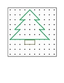 Christmas Geoboard Designs