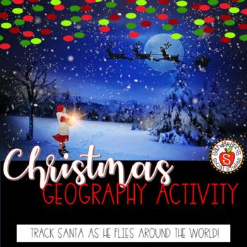 Christmas Geography Activity - Santa Tracker