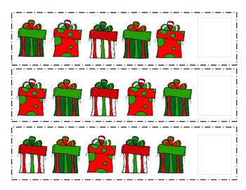 Christmas Gift AAB/ABC Patterns