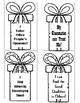 Christmas Gift Bookmarks with Mindset and Kindness Quotes: Bonus Coloring Pages