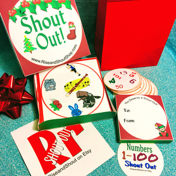 Christmas Gift Box for Shout Out