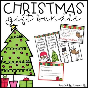 Student Christmas Gift Bundle - Print & Go!