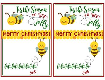 Christmas Gift - Burt's Bees Chapstick - Tis the Season