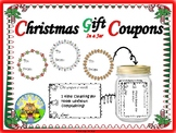Christmas Gift Coupons in a Jar!