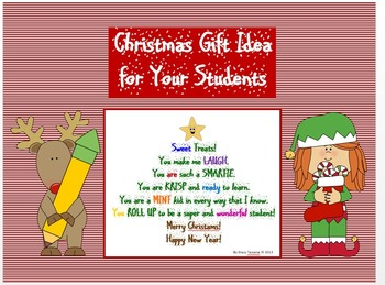 Christmas Gift Bag Tags Teaching Resources | Teachers Pay Teachers