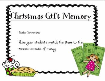 Christmas Gift Memory
