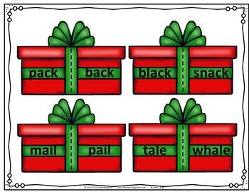 Christmas Gift Rhyming