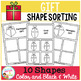 Shape Sorting Mats: Gift Christmas