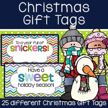 Christmas Gift Tag BUNDLE