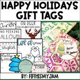 Christmas Gift Tags // 11 Options: Color & Black/White