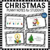 Teacher to Student Christmas Notes