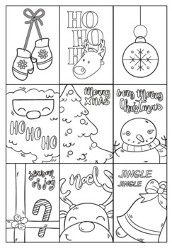 Christmas Gift Tags - Christmas Craft Activity