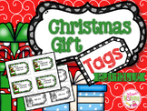 Christmas Gift Tags EDITABLE