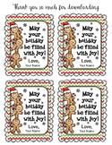 Holiday Gift Tags Editable Version
