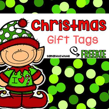 Christmas Gift Tags {FREEBIE}