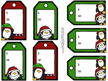 Christmas Gift Tags- My Gift To You! {FREEBIE}
