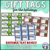 Christmas Gift Tags Editable