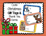 Christmas Gift Tags And Thank You Cards