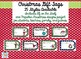 Christmas Gift Tags for Teachers, Students, Family, and Friends