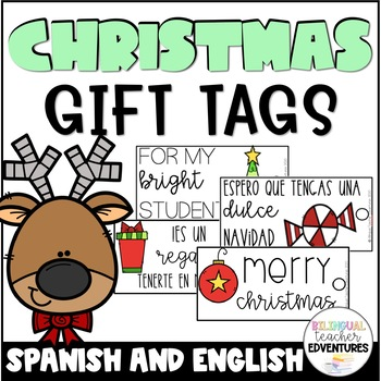 Christmas Gift Tags in Spanish & English