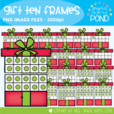 Gift Ten and Twenty Frame Clipart