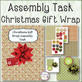 ASSEMBLY TASK Christmas Gift Wrap