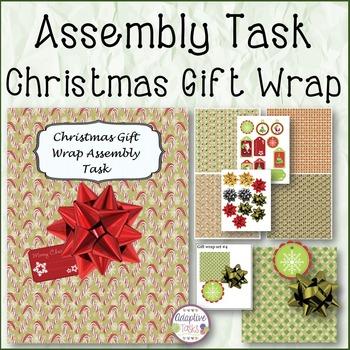 ASSEMBLY TASK Christmas Gift Wrap