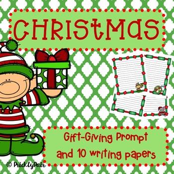 Christmas Gift Writing