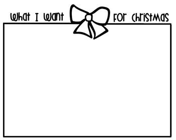 Christmas Gift Writing Templates