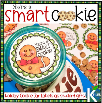 "Christmas Holiday Gift for Students: The ""Smart Cookie"" Jar"