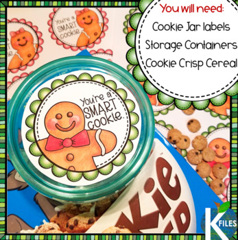 """Christmas Holiday Gift for Students   The """"Smart Cookie"""" Jar"""