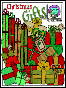 Christmas Gifts Clipart (Embellish Yourself Artworks)