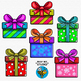 Christmas Gifts Clip Art