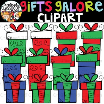 Christmas Gifts Clipart {Christmas Clip Art}