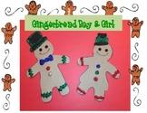 Christmas Gingerbread Boy & Girl