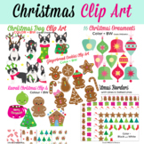 Christmas Gingerbread Clip Art Bundle