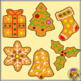 Christmas Gingerbread Clipart