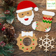 Christmas Gingerbread Cookies Clipart, Christmas Clip Art, Holiday Clipart