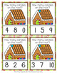 Christmas Gingerbread Count and Clip Cards Numbers 0-10